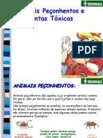 Animais Peçonhentos e Plantas Tóxicas