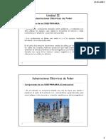 Unidad II-1_Subestaciones Eléctricas de Poder(Clasificación de las Subestaciones)
