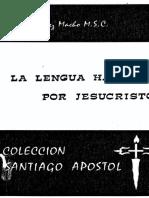 A. Diez Macho, La Lengua Hablada Por Jesucristo