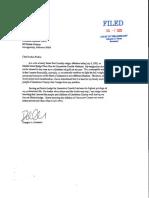 Doug Patterson Resignation Letter