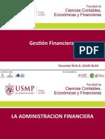 SEMANA 1 SESION 1 Y 2 GESTION FINANCIERA USMP