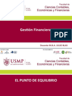 SEMANA 4 SESION 1 Y 2 GESTION FINANCIERA USMP