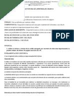 GUIA AUTONOMA DE APENDIZAJE GRADO 6_trovas y coplas