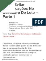 Como Evitar Complicações No Desdobro De Lote - Parte 1 - Sienge.pdf