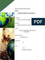 Desequilibrio Ecologico - Teresa