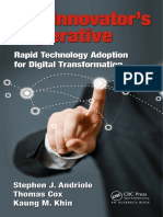 The innovator's imperative _ rapid technology adoption for digital transformation (2018)