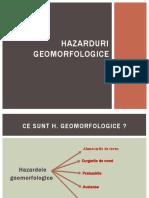 hazarde geomorfologice