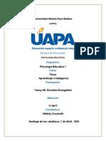 TAREA 5 DE PSICOLOGIA EDUCATIVA 1