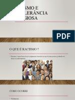 Racismo e intolerância religiosa