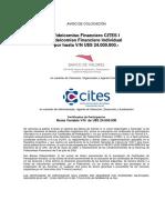Aviso de Suscripción FF CITES I