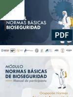 MANUAL NORMAS BÁSICAS DE BIOSEGURIDAD