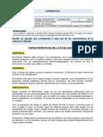 RAÚL & JAVIER CARACTERÍSTICAS DE LA EVALUACIÓN