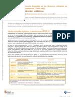 Corticoides sistémicos_Evidencia fármacos COVID-19 (I) Ojo de Markov 88 -