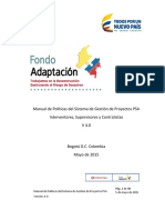 Anexo No. 6 Manual de Políticas PSA