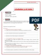 FICHA LAS CIUDADES Y EL CIELO