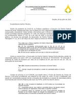 Ofício da CLDF ao ministro da Economia, Paulo Guedes