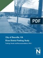 Danville Parking Needs
