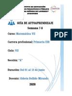 GUIA-AA (SEM7-8)-PRIMARIA VII A - Matemática.pdf