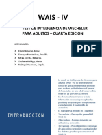 TEST WAIS - IV FINAL