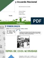 POLITICA Y ACUERDO NACIONAL