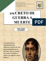 ARMISTICIO Y REGULARIZACION DE LA GUERRA