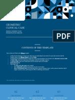 Geometric Clinical