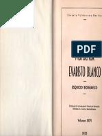 Ernesto Valderrama, Monseñor Evaristo Blanco