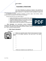 Methodology Teaching Literature
