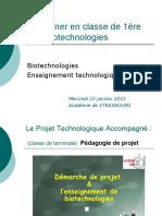 STL Biotechnologies Presentation Projet