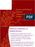 Parties and Political Stability