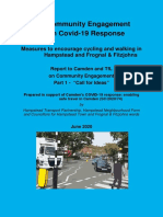 Covid-19 Transport Response Engagement 1 Report