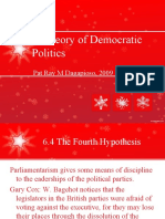 A Theory of Democratic Politics
