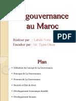 La gouvernance au Maroc