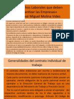 Derechos Laborales que deben garantizar las Empresas (2)