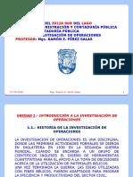 LÁMINAS DE INVESTIGACIÓN DE OPERACIONES