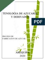 Ensayo ,Tecnologia Del azucar (Fabricacion ).docx