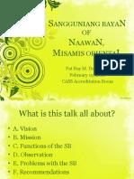 Municipal Council of Naawan, Misamis Oriental (Sangguniang Bayan of Naawan, Misamis Oriental)