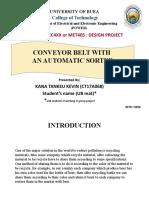Design project presentation template