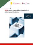 Guia sobre seguridad y privacidad en el Comercio Electrónico - INTECO