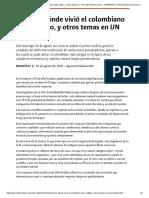 Conozca dónde vivió el colombiano más antiguo, y otros temas en _em_UN Periódico__em_-UNIMEDIOS_ Universidad Nacional de Colombia