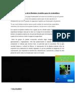 Importancia de la Botánica Acuática para la Acuicultura