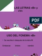 USO DE LA V-B