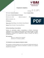 C833- Derecho Laboral y Previsional
