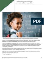 Protagonismo do aluno_você investe no futuro do seu filho