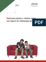 Guia para padres y madres sobre uso seguro de videojuegos por menores - INTECO