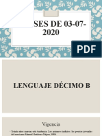 CLASES 03-07-2020