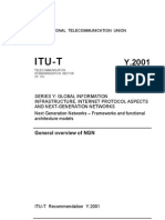 ITU-General Overview of NGN