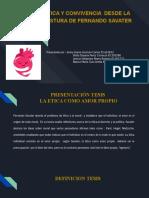 ETICA Y CONVIVENCIA  DESDE LA POSTURA DE FERNANDO SAVATER