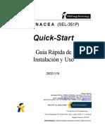 QUICK START Version 20021119