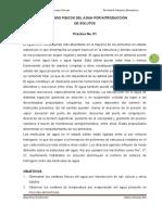 PRACTICA 1. CAMBIOS FISICOS DEL AGUA